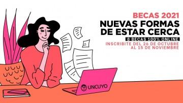 La UNCUYO convoca a las Becas Estudiantes 2021