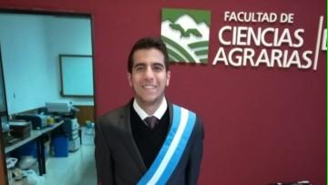 Estudiante de la FCA representó a la UNCUYO en la III Cumbre Ambiental de Latinoamérica