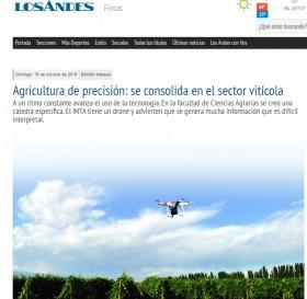 Agricultura de precisión: se consolida en el sector vitícola
