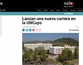 Lanzan una nueva carrera en la UNCuyo